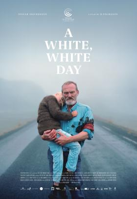 English language poster for A White, White Day