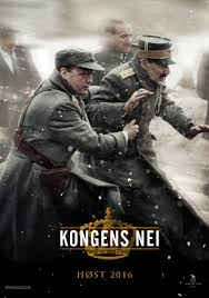 Norwegian language poster for The King's Choice film