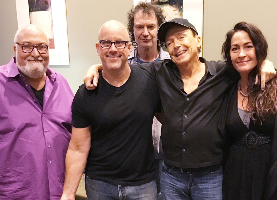 Making music with David Cassidy