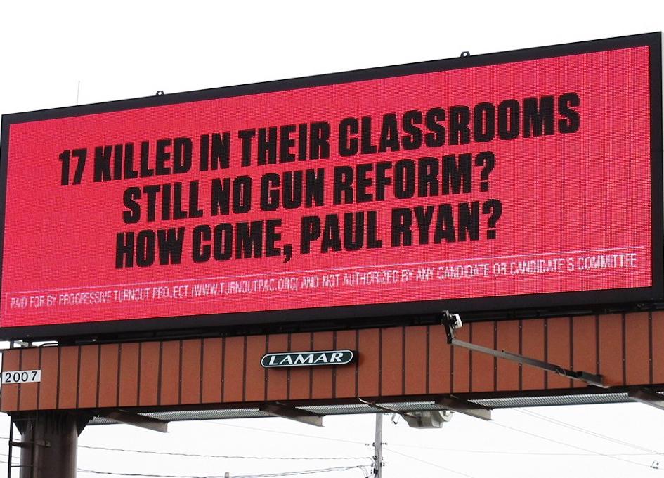 Progressive PACs target NRA friendly politicians
