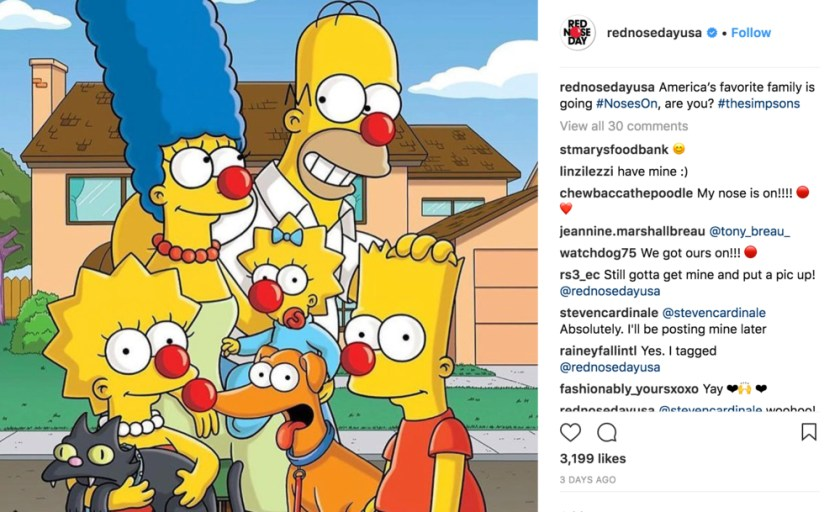 simpsons-red-nose-day