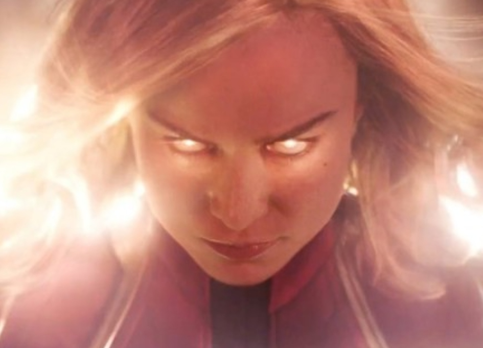 Brie Larson arrives as Captain Marvel in first trailer
