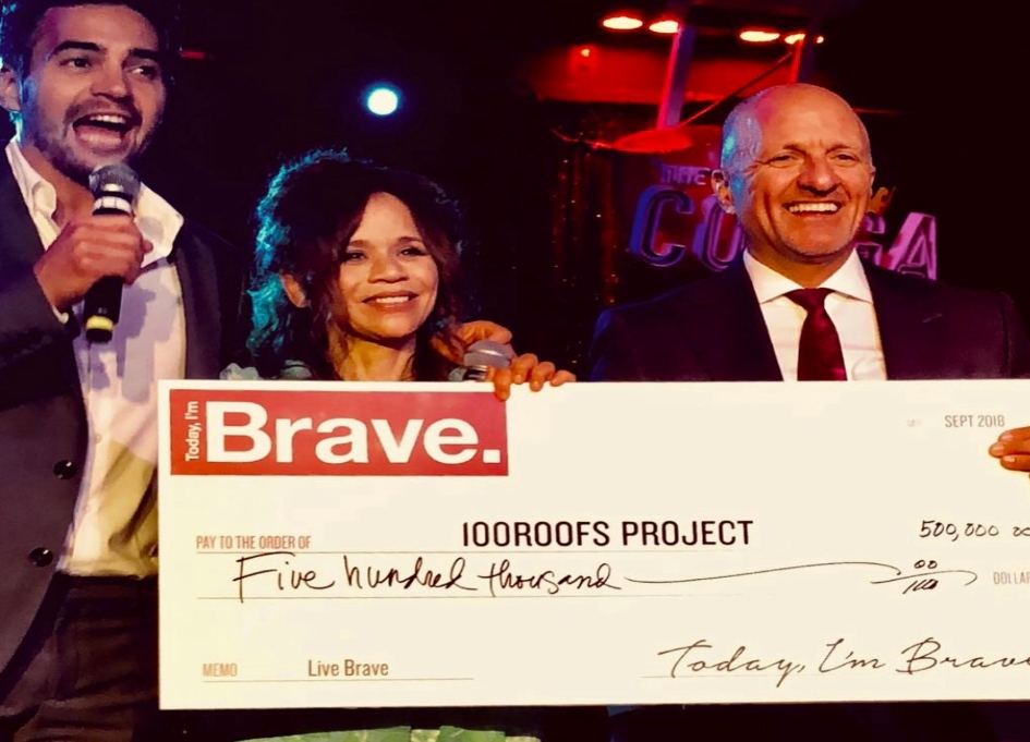 Today I'm Brave holds 100Roofs gala for Puerto Rico