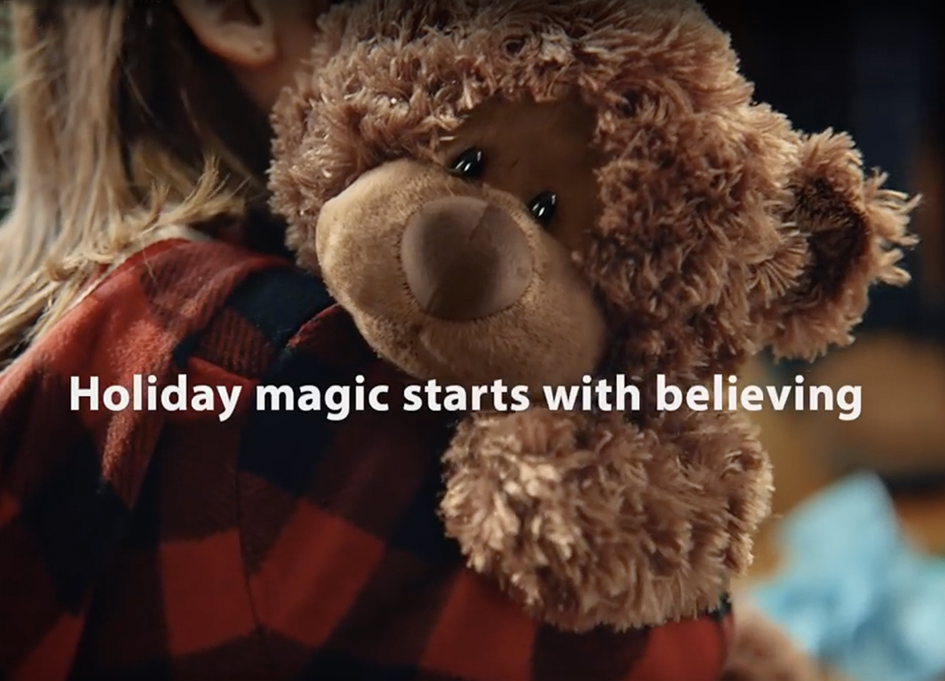 Walmart brings holiday magic home