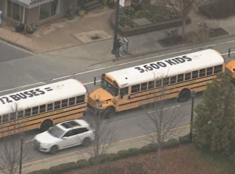 BBDO Atl wraps school buses to stop child trafficking