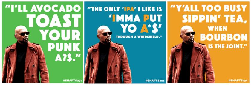 shaftsays