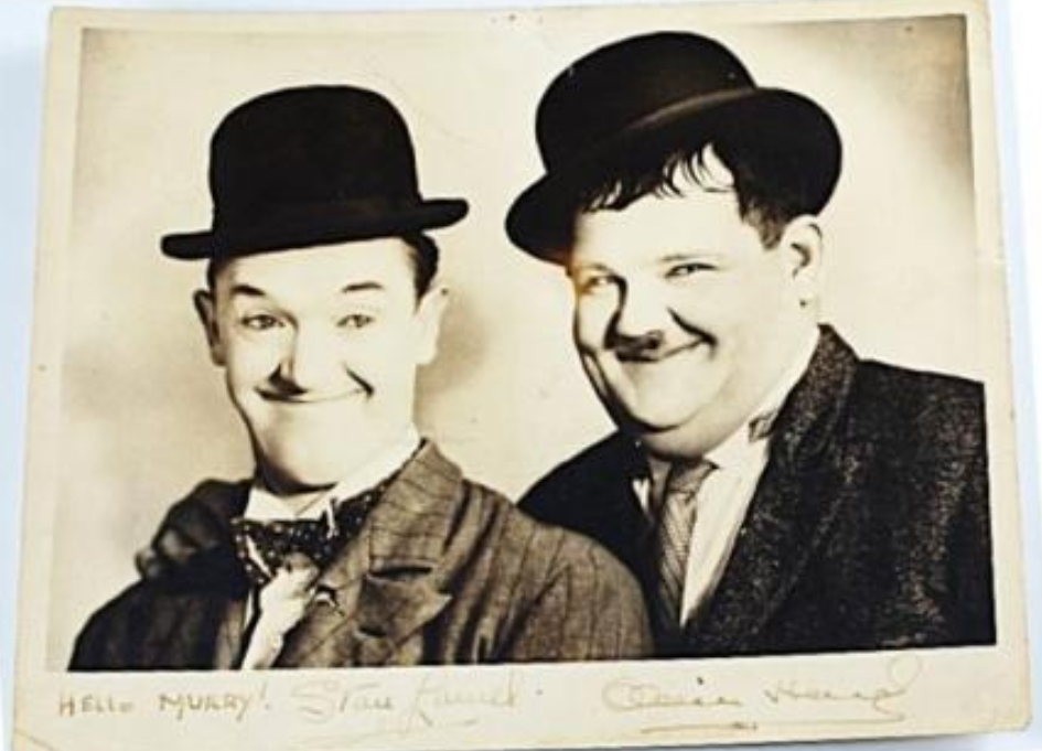 Laurel and Hardy are back again… sort of