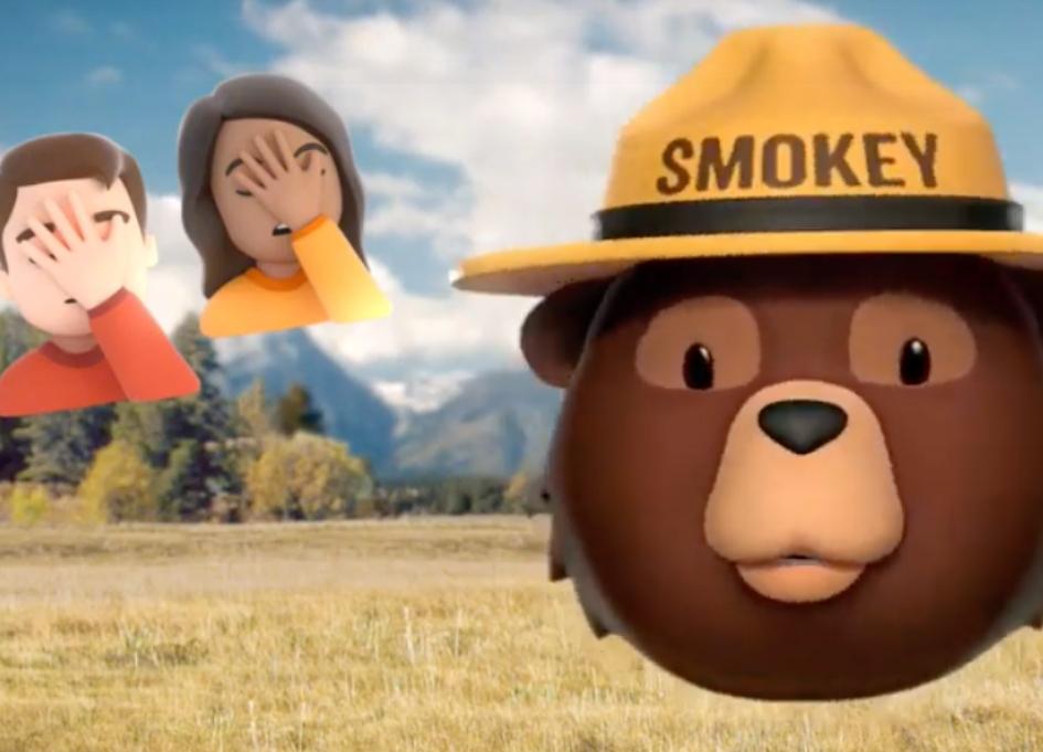 Colbert, Roker, Foxworthy join Smokey Bear campaign