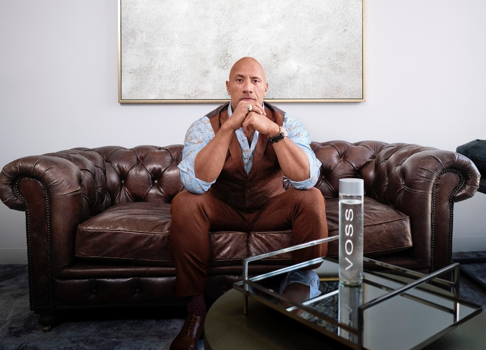 Dwayne Johnson is new VOSS at water company