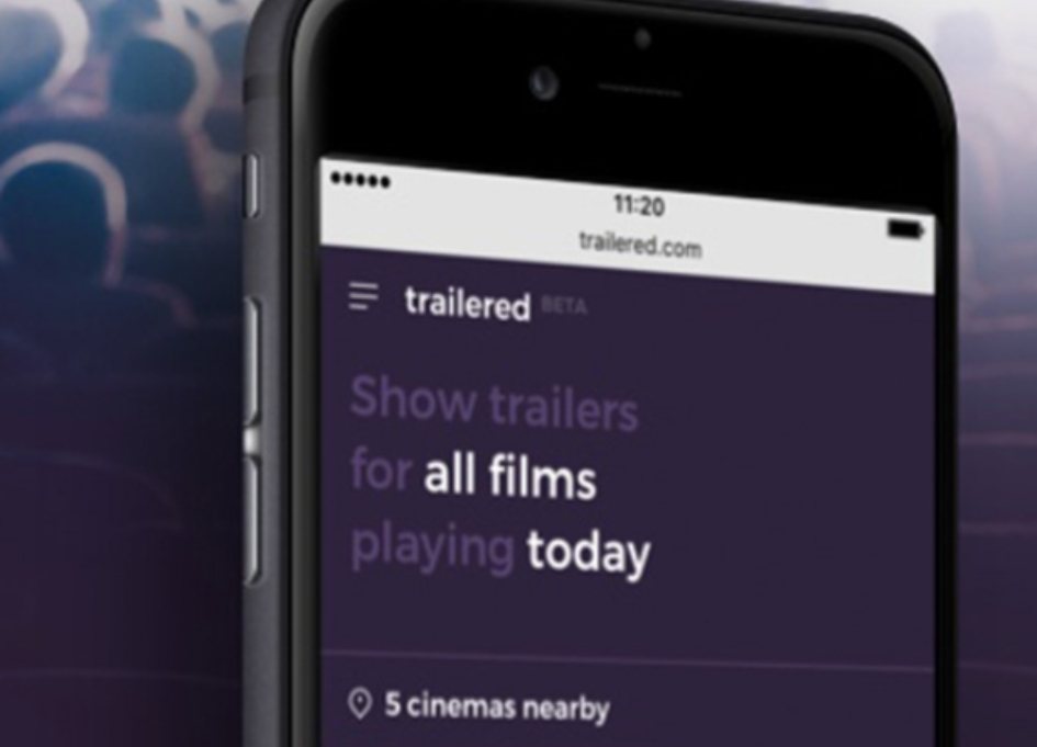 "Introducing Trailered, ""Fandango without middleman"""