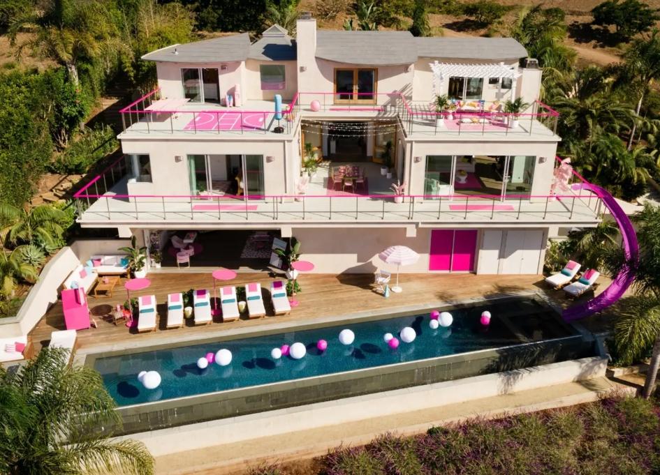 Airbnb Barbie Malibu Dream House for $60