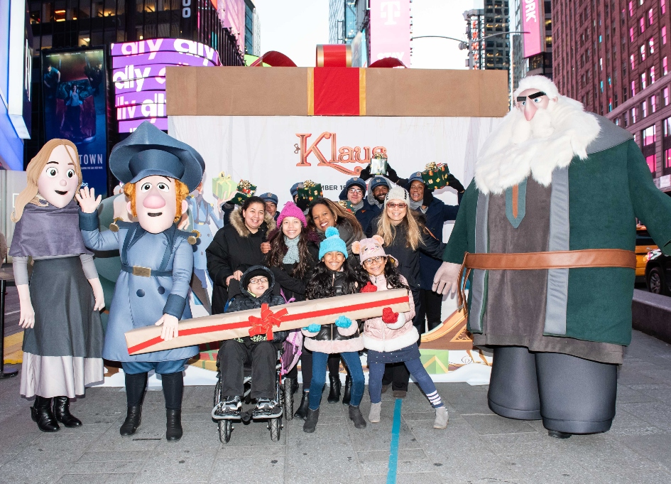 Netflix, 'Klaus' bring special delivery to New York kids