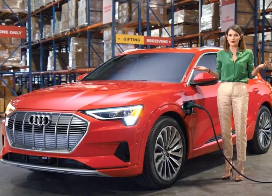 """Short staffed elves seek """"gift tester"""" for Audi e-tron"""