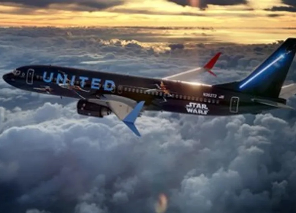 The force is with new United 'Star Wars' 737