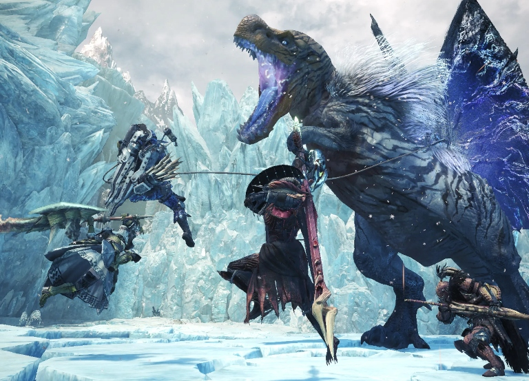 New details on 'Monster Hunter World: Iceborne'