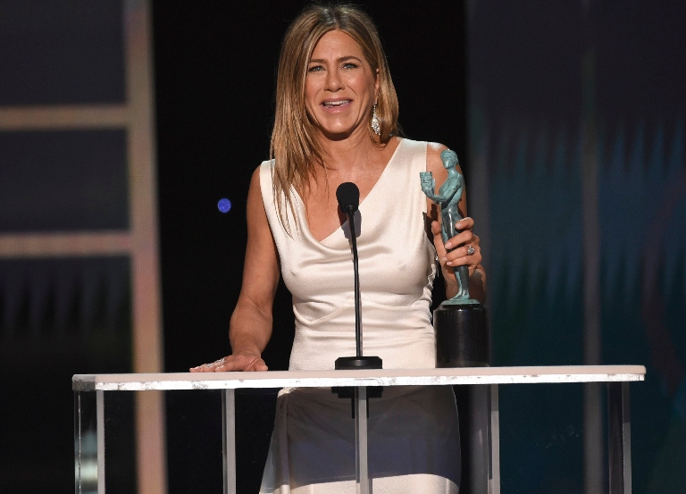 Phoenix, Aniston, 'Parasite' & other SAG winners
