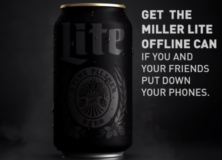 Miller Lite unveils 'Offline Can' and two new  spots