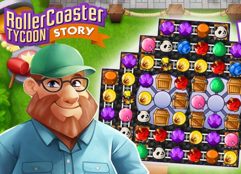 Atari 'RollerCoaster Tycoon' on iPhone, iPad and more