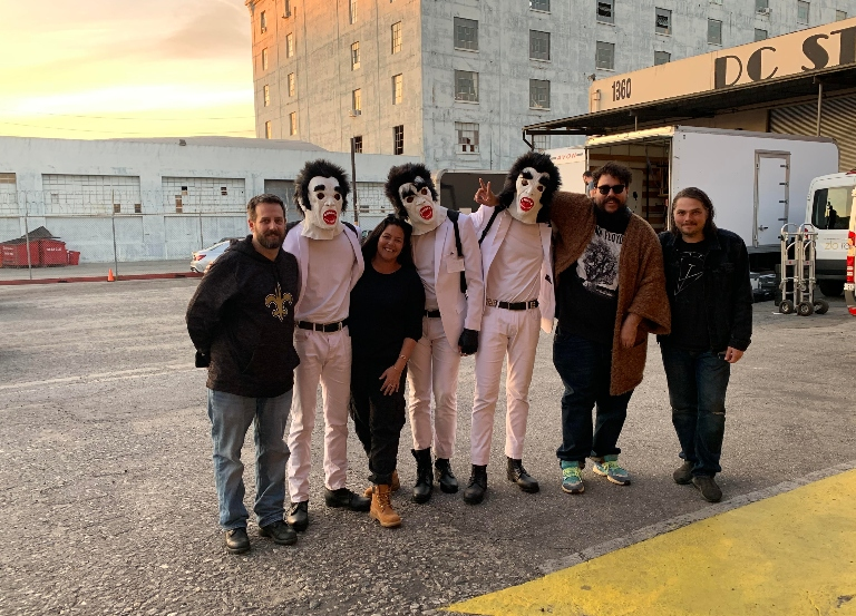 Mercado goes for terror in My Chemical Romance film
