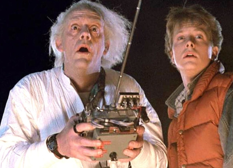 Marty Mcfly, Doc Brown reunite 30 years later