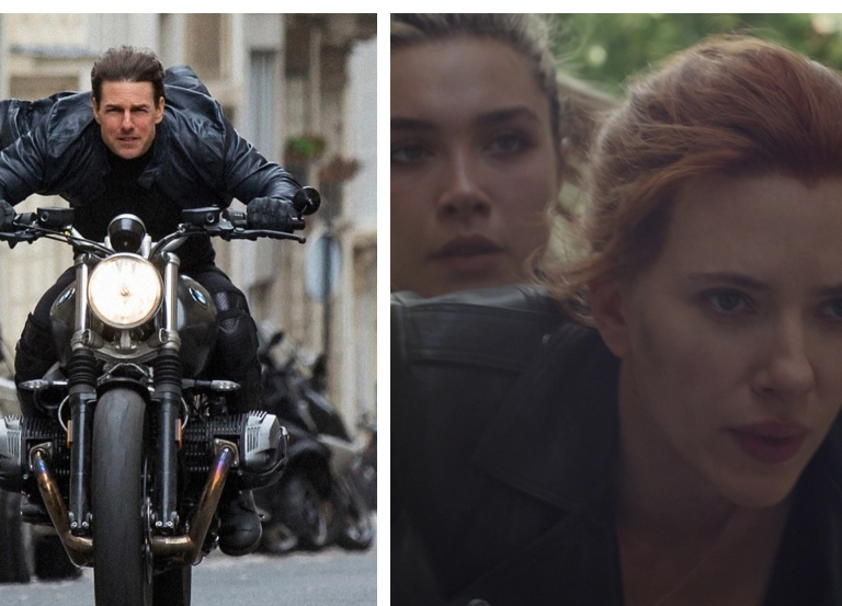 'Black Widow' pushes release date, 'MI:7' resumes