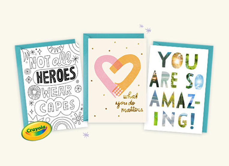 Hallmark shares gratitude with 2 million card giveaway