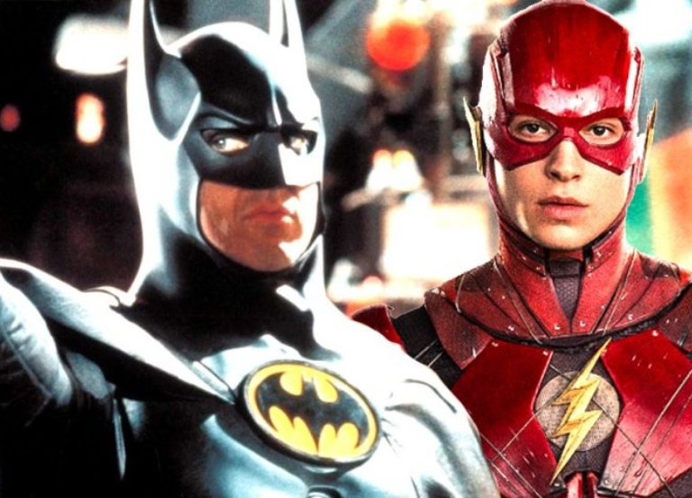 Keaton in talks to play older Batman in 'Flash' movie