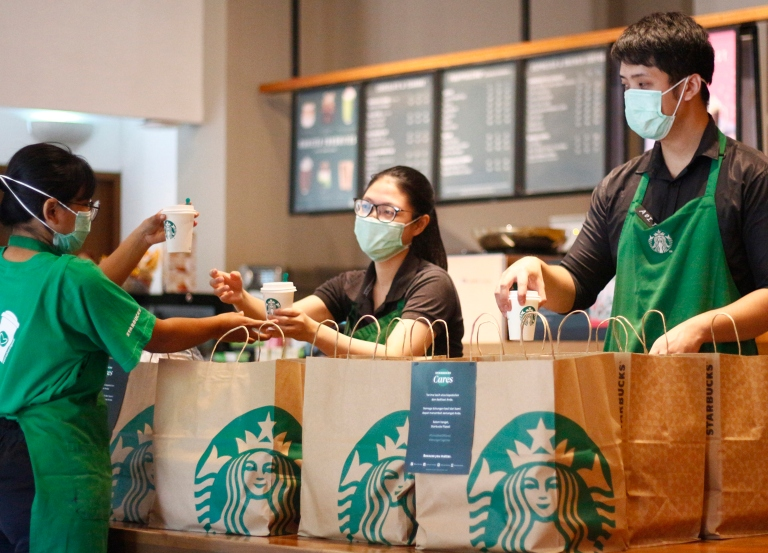 Starbucks joins social media boycott