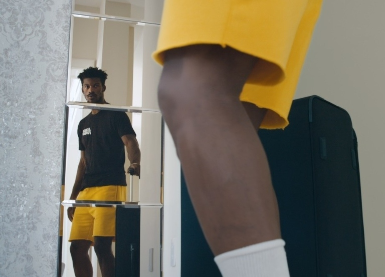 Michelob ULTRA reveals Jimmy Butler's singing skills