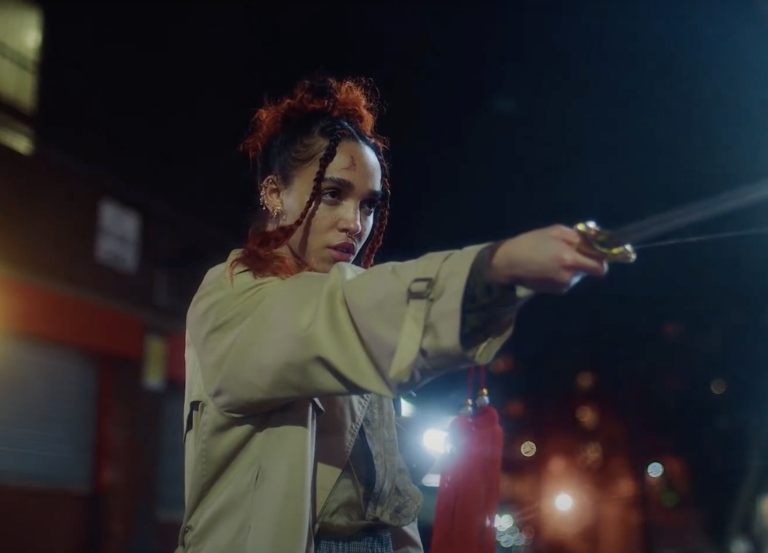 FKA twigs wields a sword in elegant, 'Sad Day' video