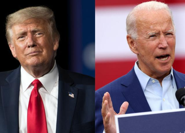 Joe Biden and Donald Trump duel it out over ratings