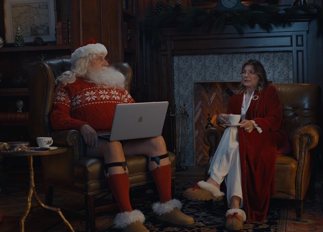 Steve Carell is stressed Santa in Xfinity's holiday film