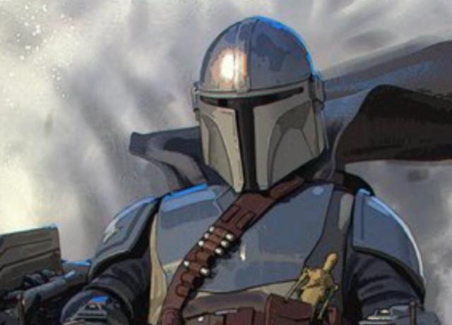 Lucasfilm releases Mandalorian Xmas card