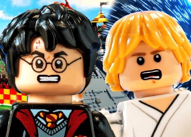 It's Luke Skywalker v Harry Potter in epic rap battle