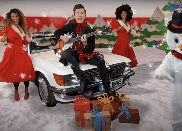 INTERVIEW: Rick Astley on Frito-Lay's new campaign
