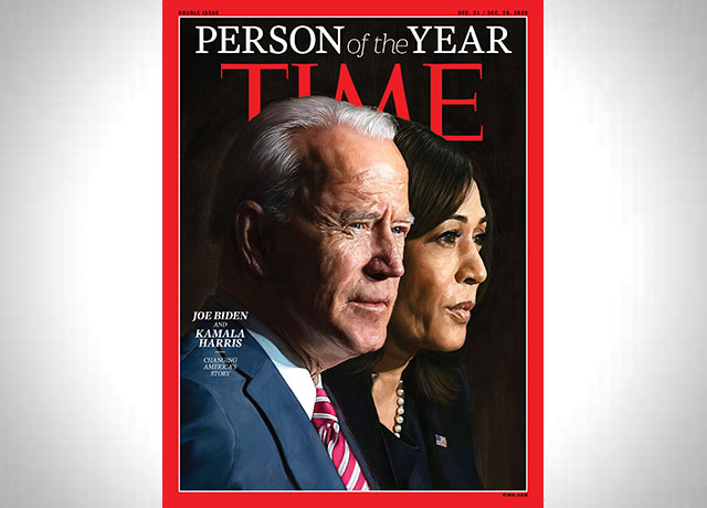 TIME 2020 Person of the Year: Joe Biden & Kamala Harris