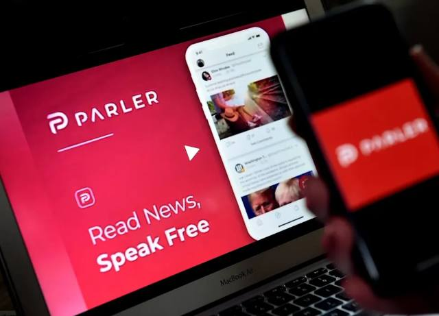 CEO of Parler says it has been dropped by vendors