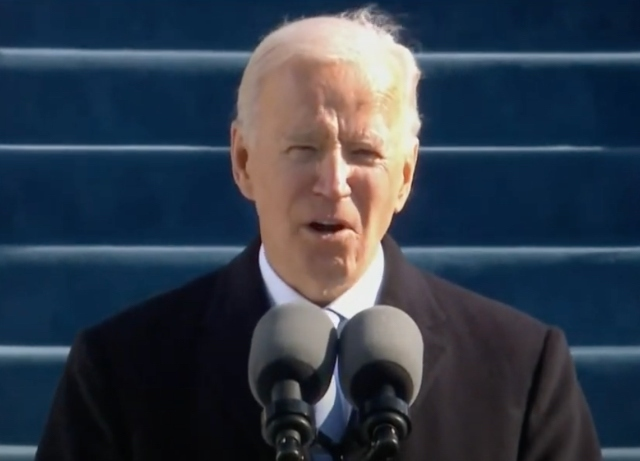 Joseph R. Biden Jr. sworn in as 46th President of the U.S.