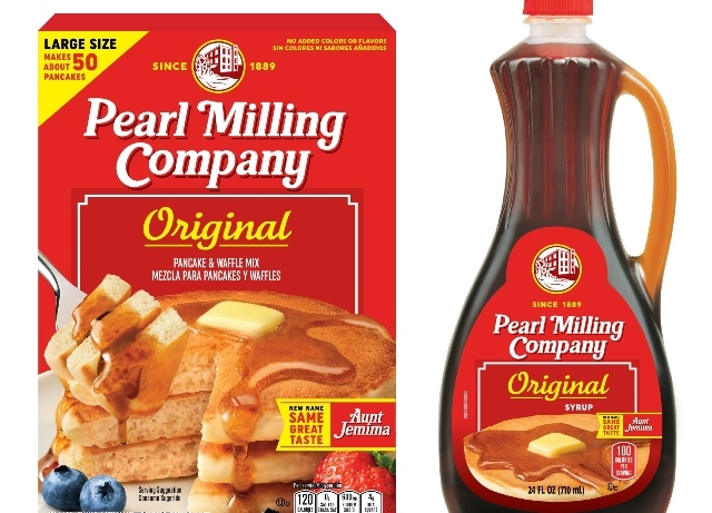 Aunt Jemina rebrands as Pearl Milling Company