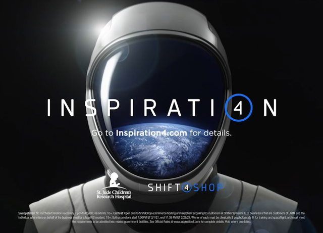 One inspired winner will suit up with Shift4 and SpaceX
