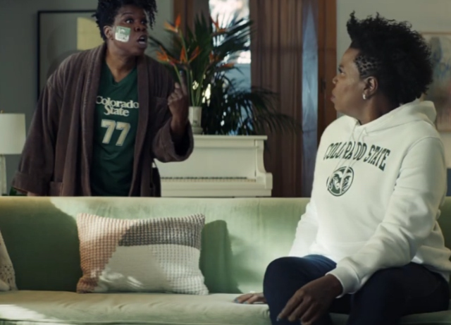 Leslie Jones double teams in Uber Eats campaign