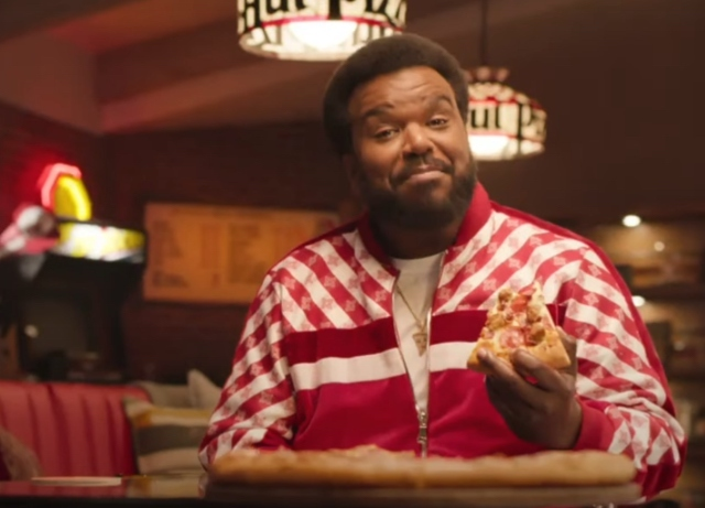 Craig Robinson goes waay back in Pizza Hut campaign