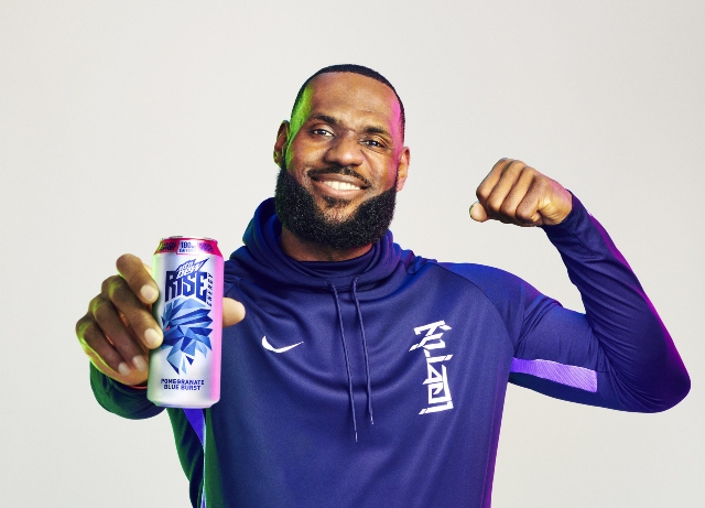 LeBron James rises in first MTN DEW Energy campaign