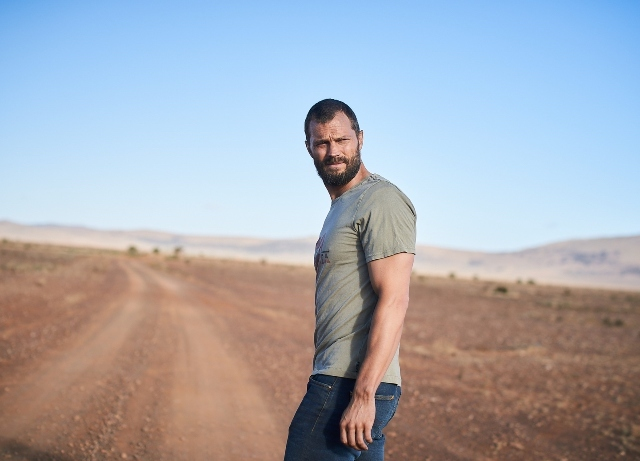 HBO Max releases first pics of Jamie Dornan in Tourist
