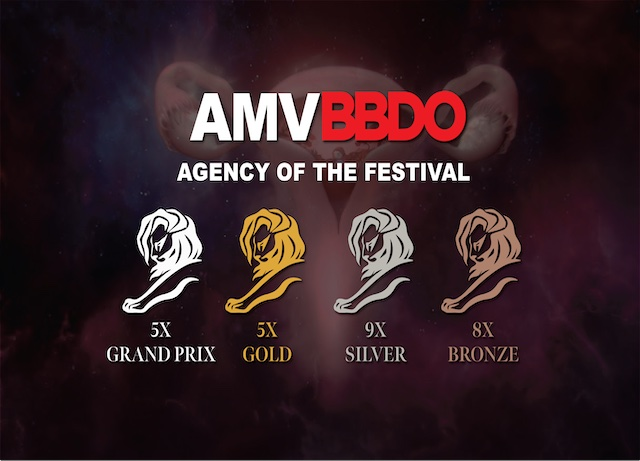 Cannes Lions: AMVBBDO named Agency of Festival