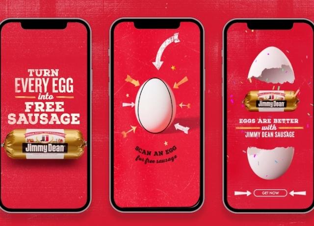 Jimmy Dean: hijacks National Egg Day