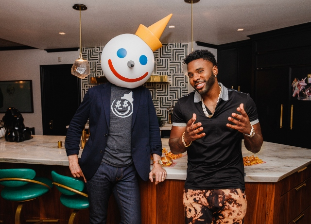Jack in the Box: Teams with Derulo for virtual restaurant