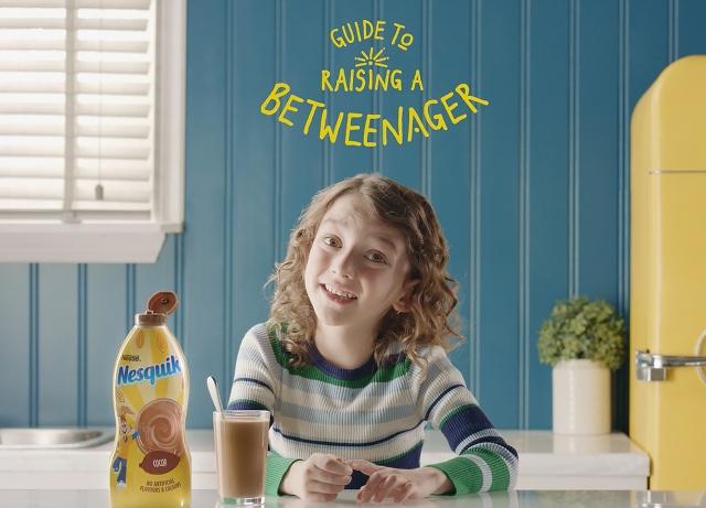 Nesquik: Introduces the Betweenagers