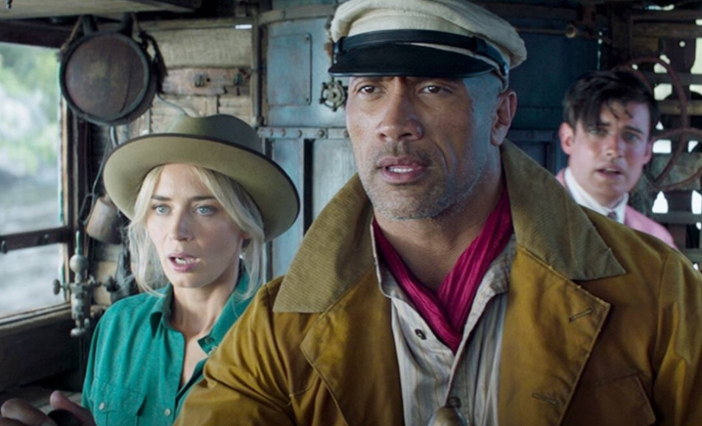 """Emily Blunt, Dwayne Johnson """"cruise"""" to  number 1 with $90m global take"""