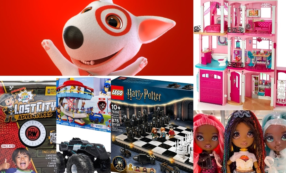 Target: Bulleye's Top Toy list returns this holiday season